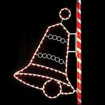 8' Silhouette Signature Bell, LED