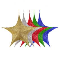 """Foldable 3D Star - 32"""" - Polymesh - 5 Colors Available"""
