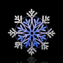 """36"""" Frost Snowflake - LED Rope Light"""